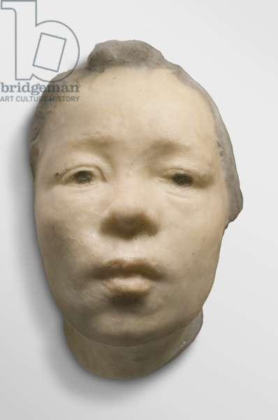 Mask of Hanako, modeled c.1907, made 1911 (pâte-de-verre)