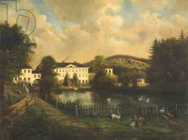 The Kienbusch Estate, Unter Marxgrun (oil on canvas)