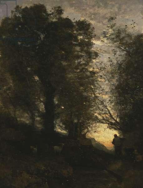 Goatherd of Terni, c. 1871 (oil on canvas)