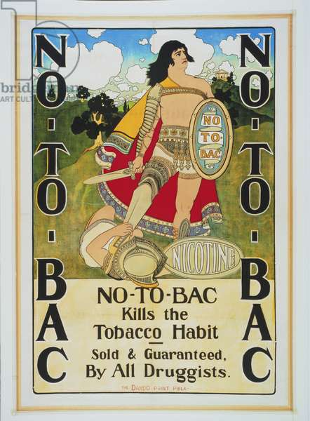 No-To-Bac, 1896 (colour metal relief print)