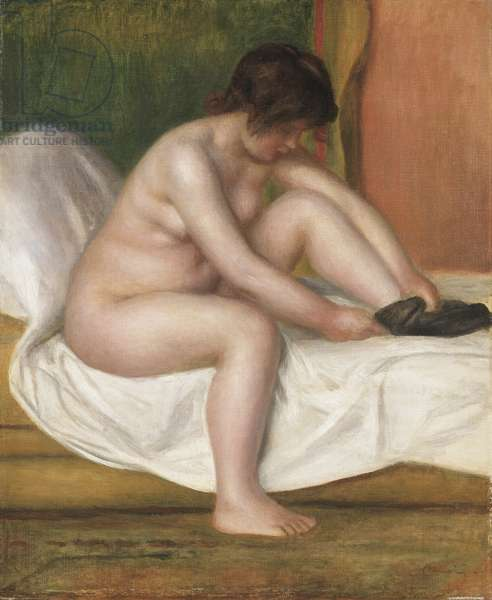 Nude, 1888 (oil on canvas)