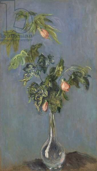 Flowers in a Vase, 1888 (oil on canvas)