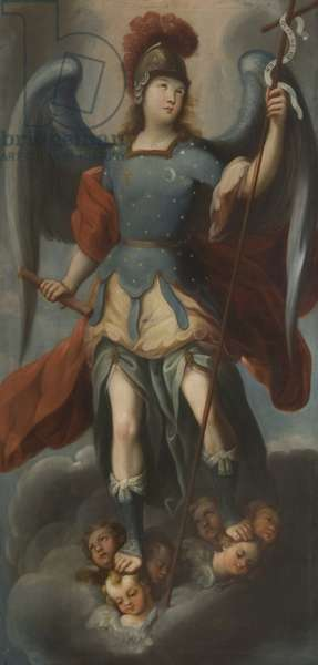 The Archangel Michael, 1739 (oil on canvas)
