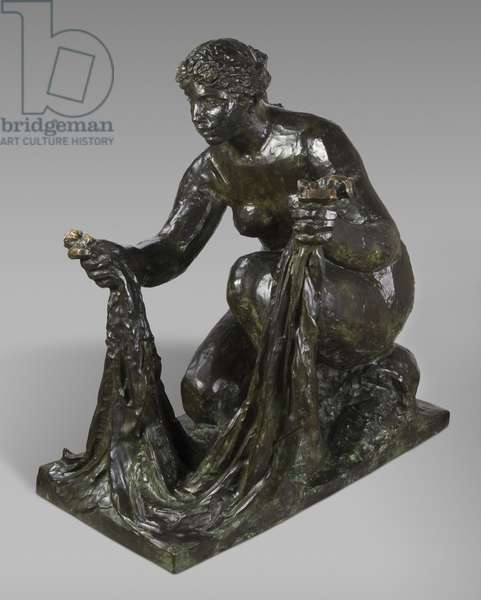 The Large Washerwoman, 1917 (bronze)