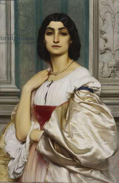 Portrait of a Roman Lady (La Nanna), 1859 (oil on canvas)
