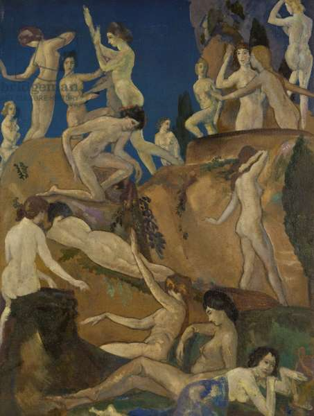 Daphnes of the Ravine, 1922 (oil on canvas)