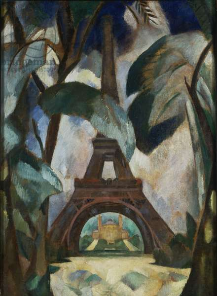 Eiffel Tower, c.1909 (oil on canvas)