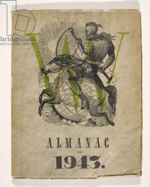 VVV Almanac for 1943, March 1943 (paperbound periodical)