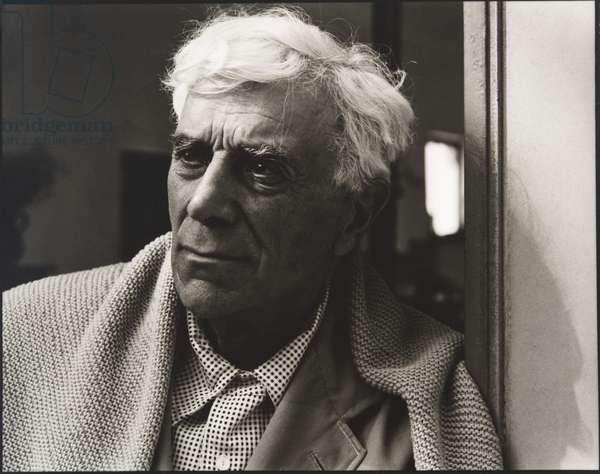 Georges Braque, Varengeville-sur-Mer, 1957 (gelatin silver print)