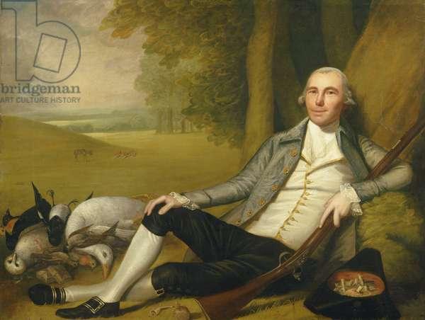 Reclining Hunter, 1783-84 (oil on canvas)