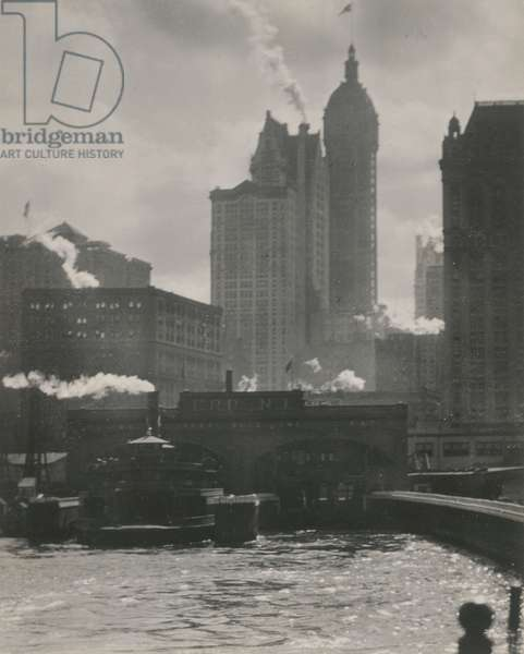 The City of Ambition, 1910 (gelatin silver print)