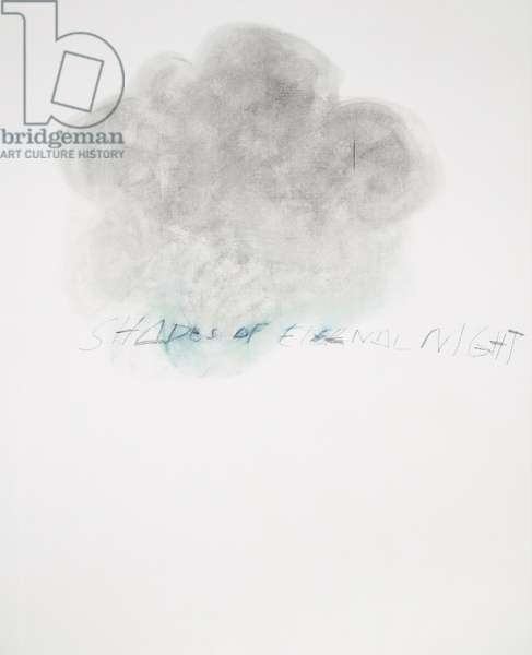 Fifty Days at Iliam: Shades of Eternal Night, 1978 (oil, oil crayon & graphite on canvas)