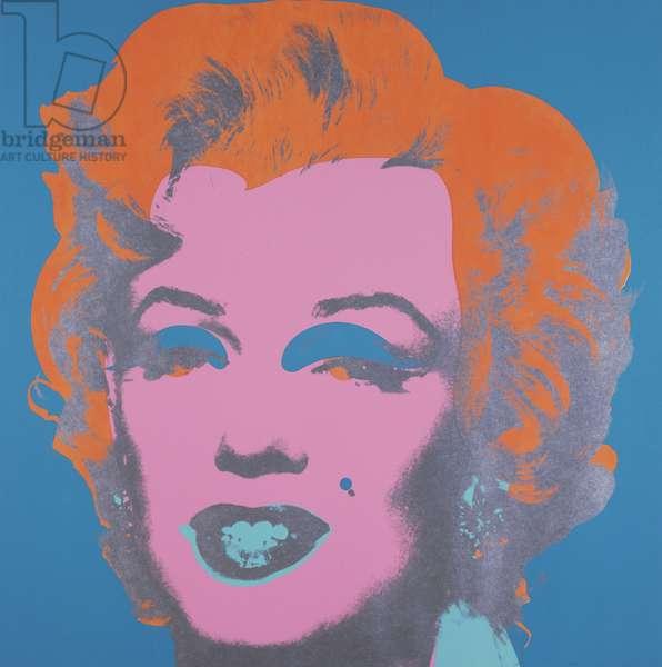 Marilyn, 1967 (color photoscreenprint & color screenprint)
