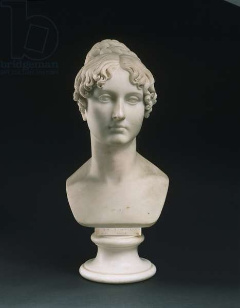 Portrait Bust of the Honorable Mrs. Pellew [later Lady Pellew], 1817 (marble) (see also 450955 & 450956)