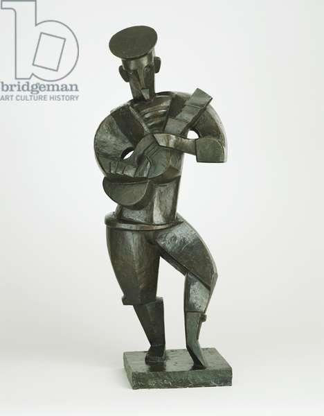 Sailor with Guitar, 1914 (bronze)