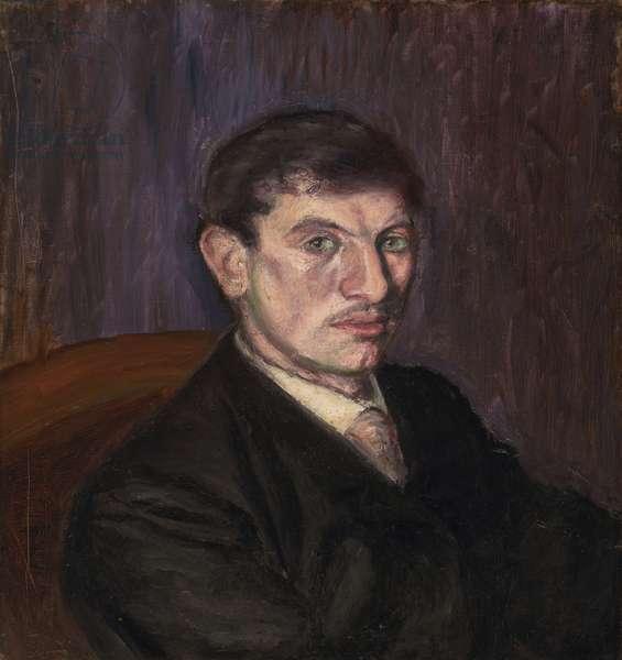 Portrait of Marcel Lefrançois, 1904 (oil on canvas)
