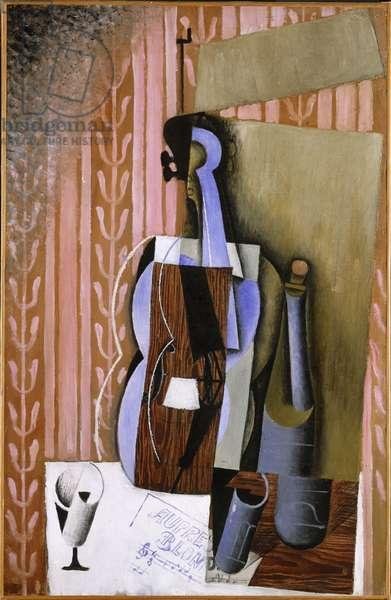 Violin, 1913 (oil on canvas)