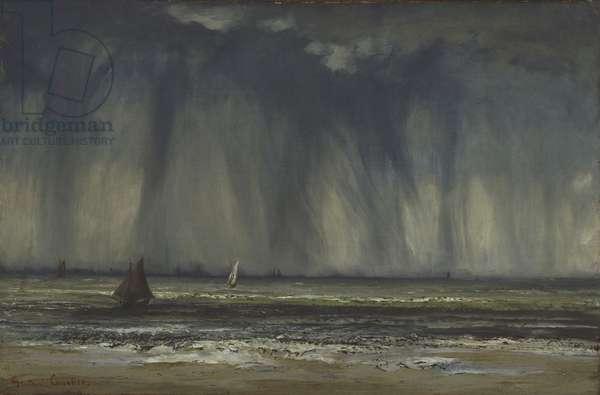 Marine, 1866 (oil on canvas on gypsum board)