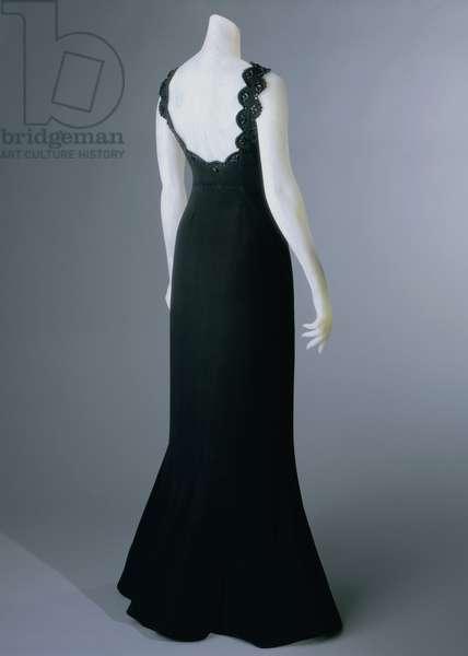 Evening Dress, Summer 1940 (silk with glass beads)