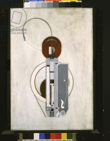 Painting VIII (Mechanical Abstraction) 1916 (oil on canvas)