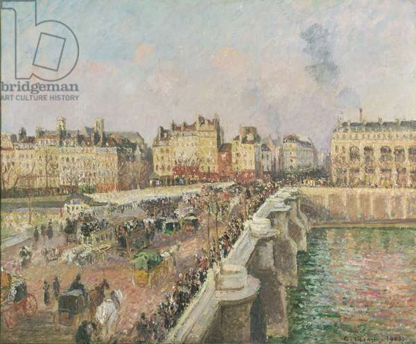 Afternoon Sunshine, Pont Neuf, 1901 (oil on canvas)