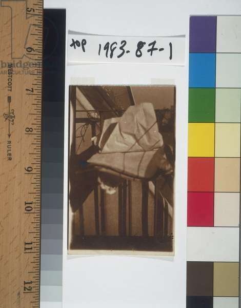 Marcel Duchamp's Unhappy Readymade, c.1919-20 (gelatin silver print)