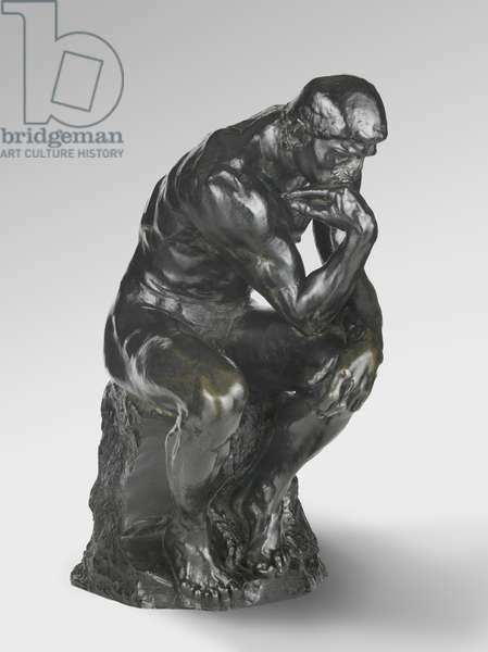 The Thinker, modeled 1880-81, cast by Alexis Rudier (1874-1952), 1924 (bronze)