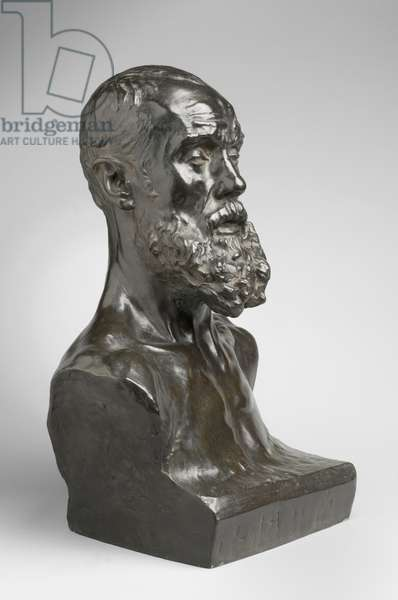 Jean-Paul Laurens, modeled 1881, cast by Alexis Rudier (1874-1952), 1925 (bronze)