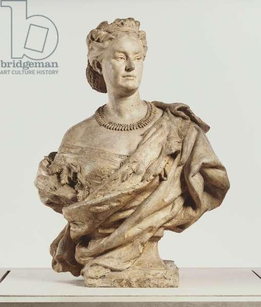 Princess Mathilde, 1862 (plaster)