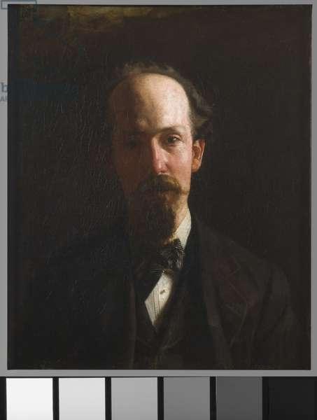Portrait of J. Harry Lewis, 1876 (oil on canvas)