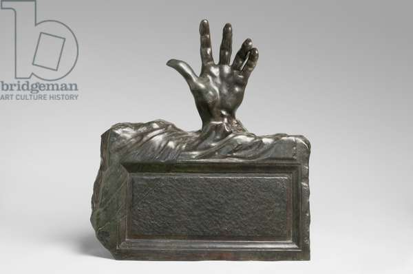 The Hand from the Tomb, modeled 1914, cast by Alexis Rudier (1874-1952), 1925 (bronze)