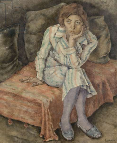 Portrait of Helene Sardeau, 1934 (oil on canvas)