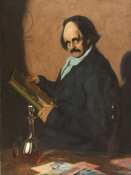 The Art Critic, 1907 (oil on canvas)