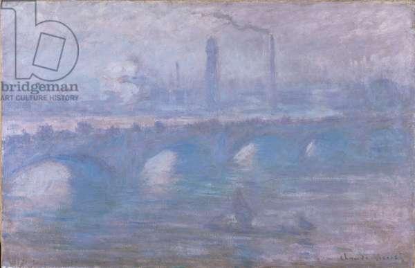 Waterloo Bridge, Morning Fog, 1901 (oil on canvas)