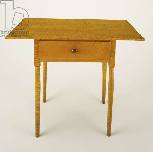 Table, 1870 (maple, cherry & white pine)