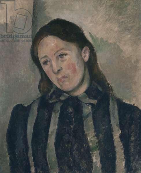 Portrait of Madame Cezanne, 1890-92 (oil on canvas)