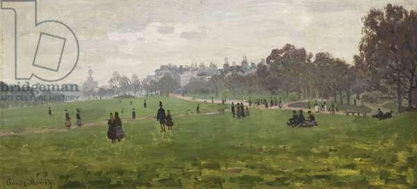 Green Park, London, 1870-71 (oil on canvas)
