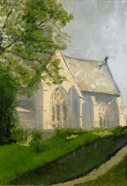 Church at Blainville, 1902 (oil on canvas)