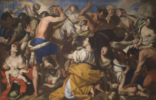 The Massacre of the Innocents, c.1640 (oil on canvas)