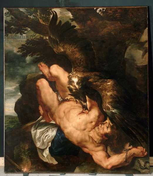 Prometheus Bound, c.1611-12 (oil on canvas)