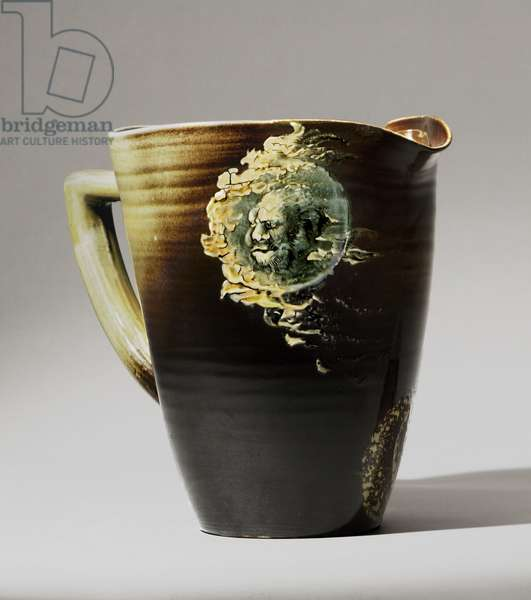 Crucible Pitcher, 1887 (stoneware (standard glaze line)) (see also 451093 & 451094)