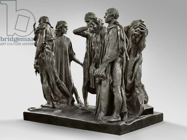 The Burghers of Calais, modeled 1884-95, cast by Alexis Rudier (1874-1952) 1919-21 (bronze)