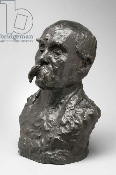 Georges Clemenceau, modeled 1911-13, cast by Montagutelli Frères, 1925 (bronze)