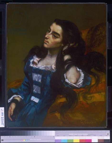 Spanish Woman, 1855 (oil on canvas)