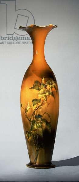 Vase, 1886 (stoneware (standard glaze line)) (see also 451106)