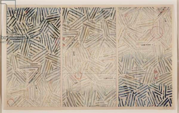 Usuyuki, 1981 (colour screenprint & photoscreenprint)