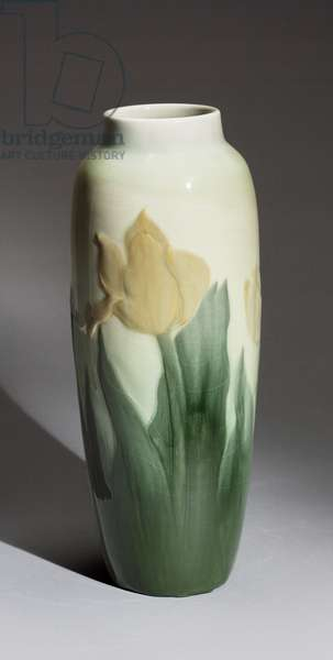 Vase, 1900 (stoneware (Flowing glaze line))