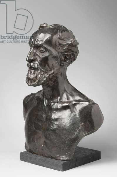 Jules Dalou, modeled 1883, cast by Alexis Rudier (1874-1952), 1925 (bronze)