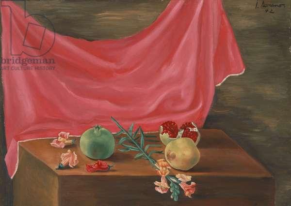 Still Life, 1942 (oil on canvas)