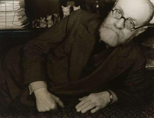 Henri Matisse, 1933 (gelatin silver print)